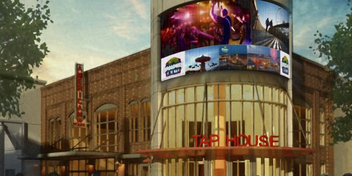Dave and Buster's, new nightclub coming to Broadway at the Beach