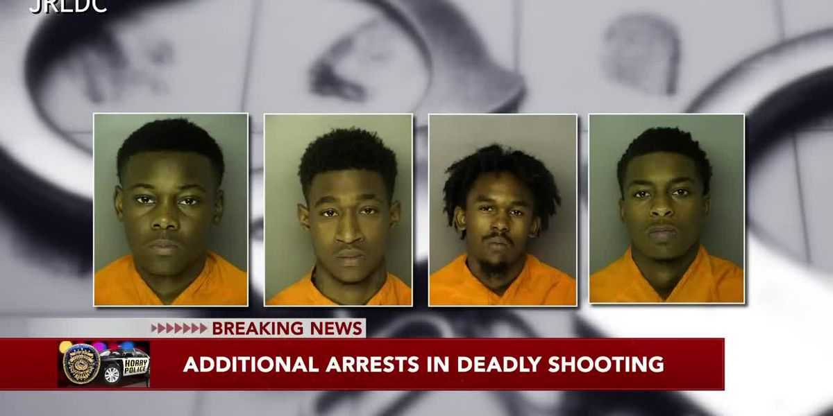 Six charged in connection with deadly shooting near D Street in Conway, authorities say