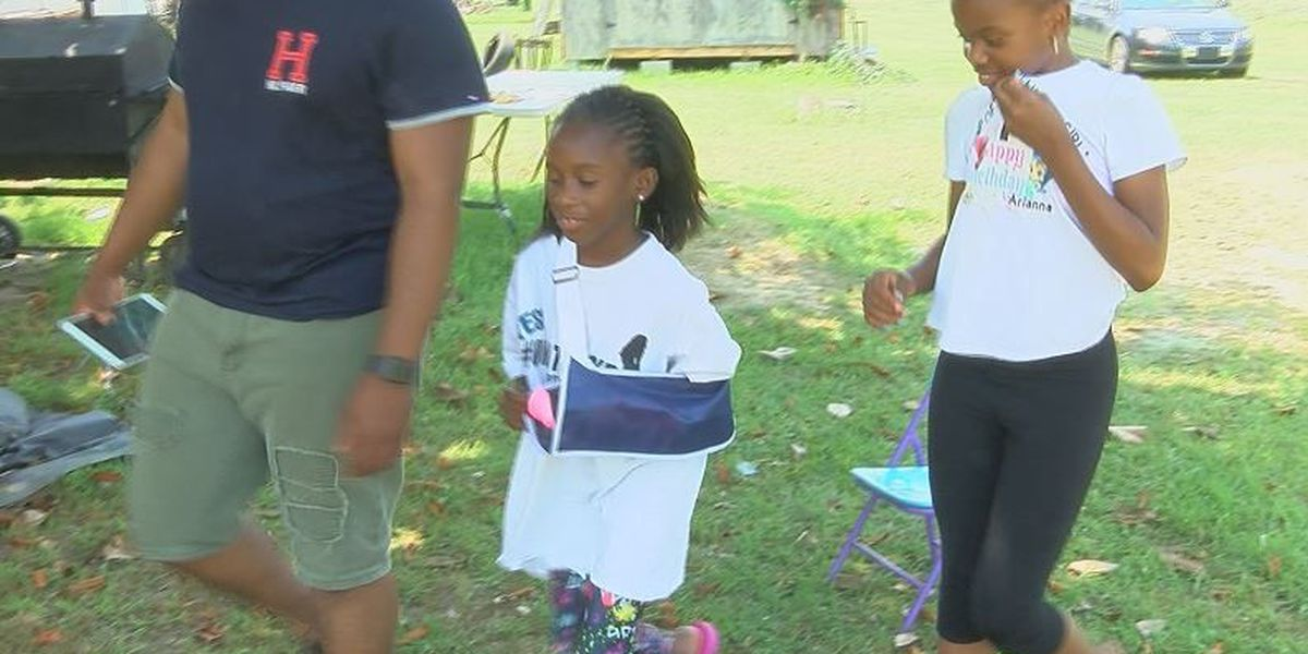 Eight-year-old Timmonsville shooting survivor recovering well since being home from hospital