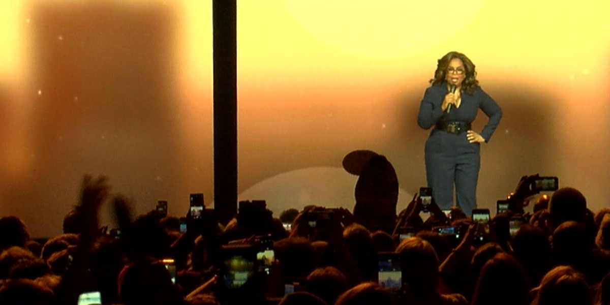 Oprah offers day of wellness during sold-out show in Charlotte