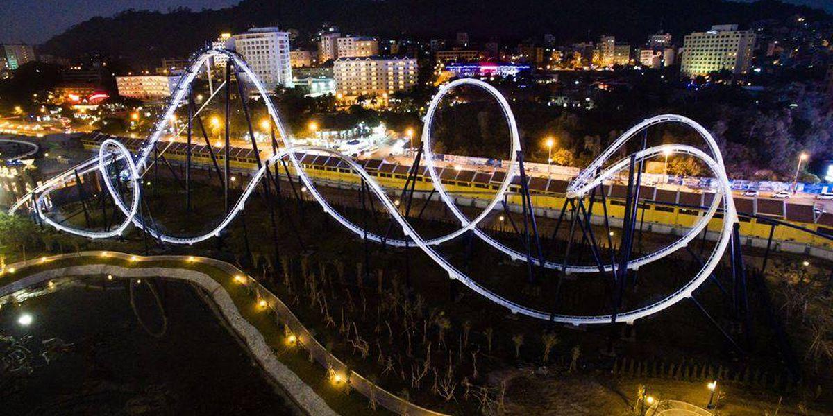 Myrtle Beach roller coaster gets new life in Vietnam