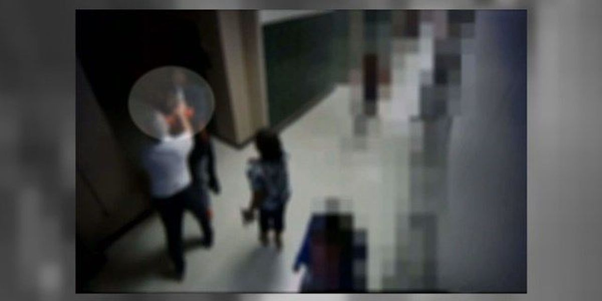 Surveillance footage shows incident between Conway High football coach, student