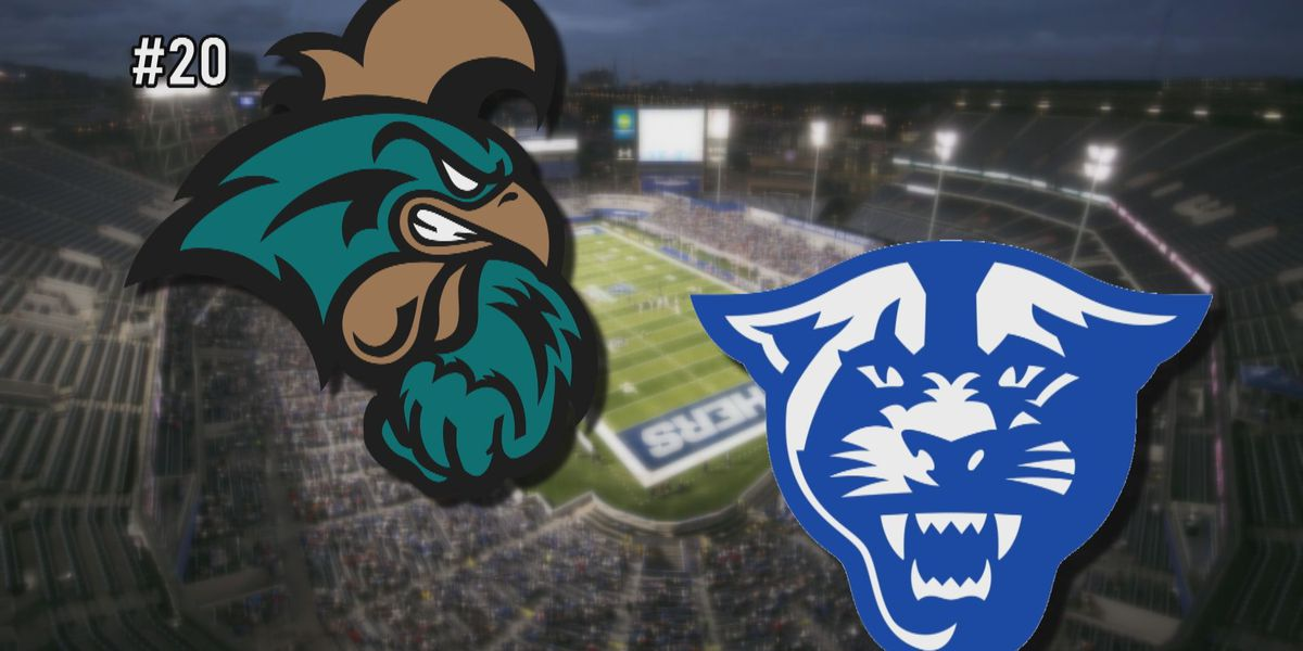 #20 CCU tasked with stopping prolific Georgia State offense
