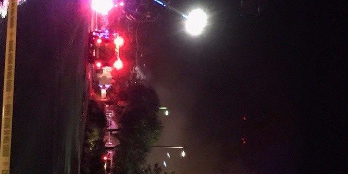 North Myrtle Beach Fire crews respond to fire at city-owned building