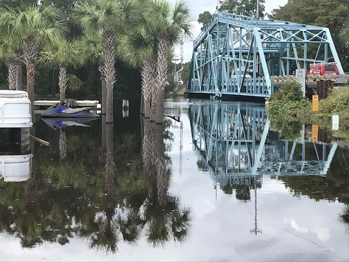 SCDOT to close moveable bridges to marine traffic Wednesday