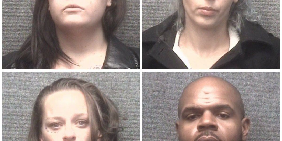 Four facing prostitution, drug charges after arrest in downtown Myrtle Beach