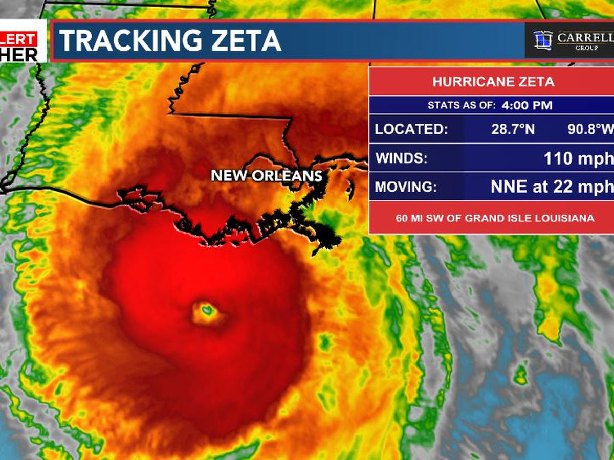 FIRST ALERT: Zeta impacts the Carolinas Thursday