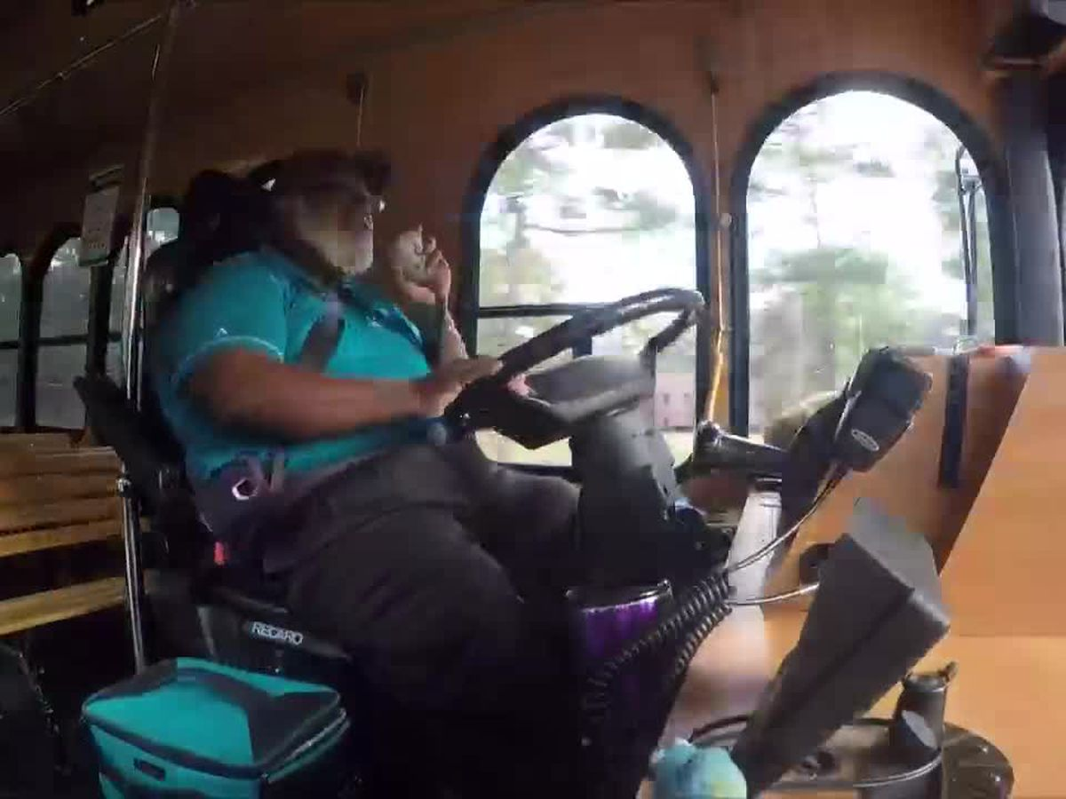 This is Carolina: Chanticleer spirit is found in its shuttles with every 'good morning'