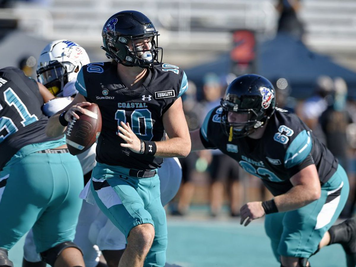COASTAL GAMEDAY: CCU routs Texas State, clinches Sun Belt East