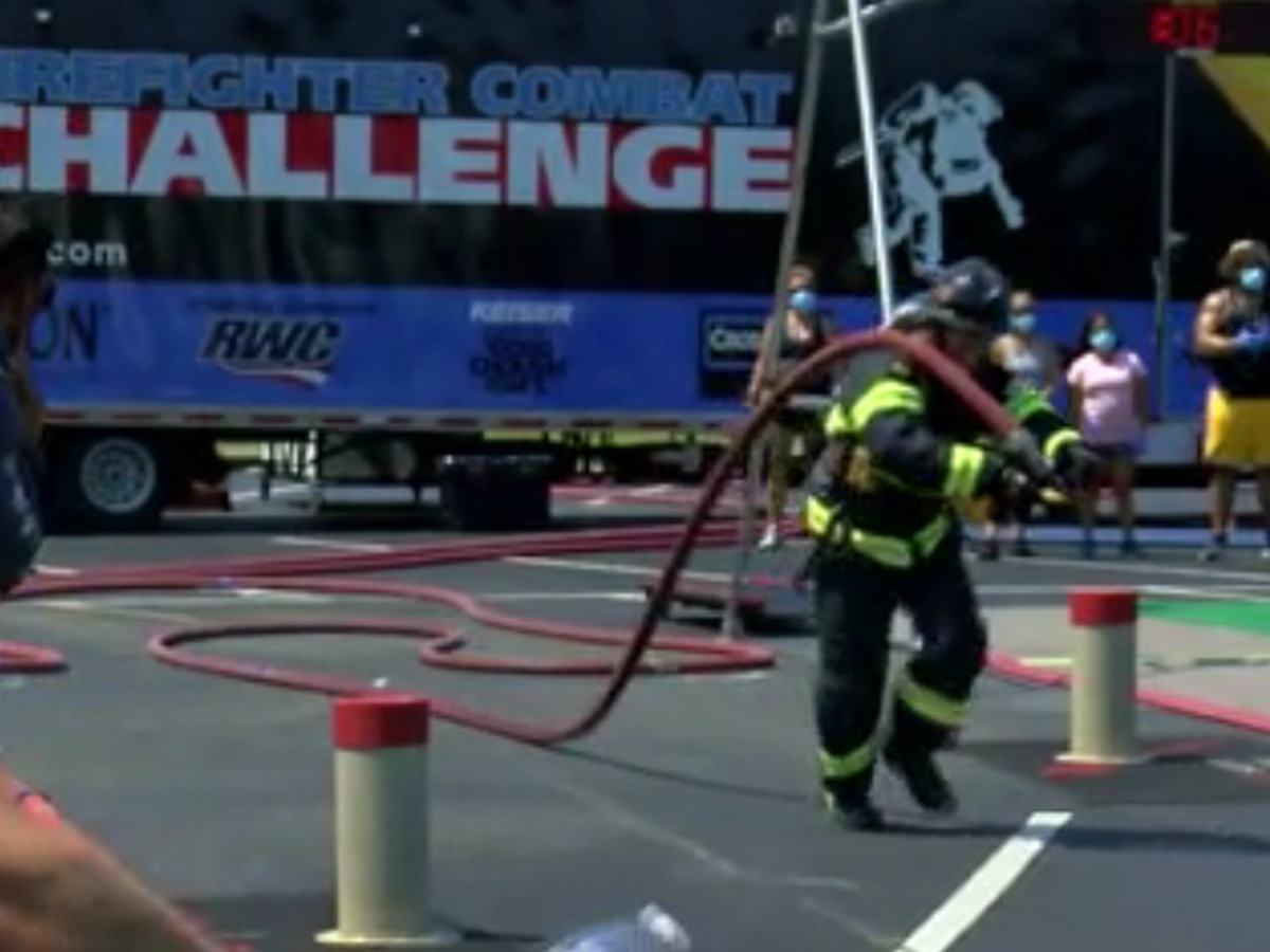'It's really for the brotherhood': Firefighters compete in Combat Challenge in Myrtle Beach