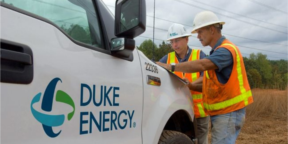 Duke Energy crews staging in Florence in preparation for Dorian