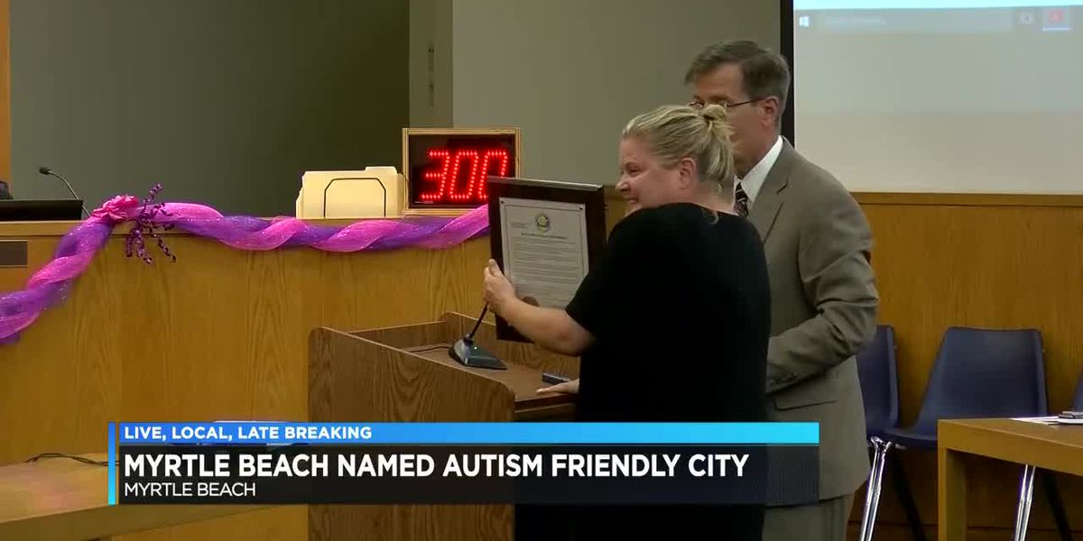 Myrtle Beach named autism-friendly city
