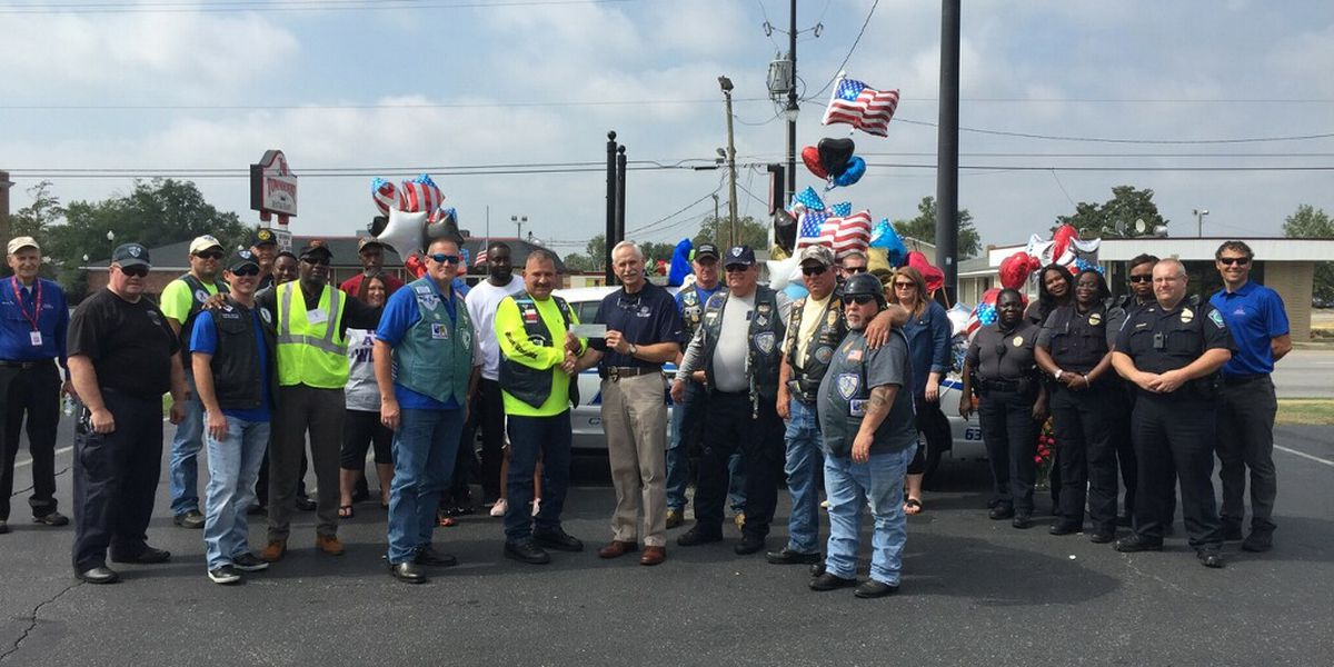 Bike club's roar fills hearts for slain Sgt. Carraway