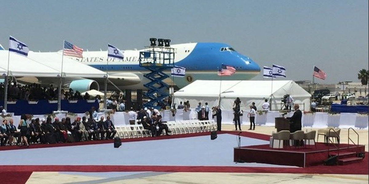 Clemmons greets President in Israel