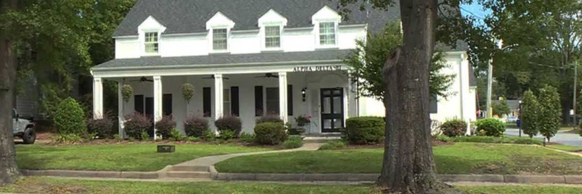 POLICE: Man with machete smears bloody satanic messages on ECU sorority house