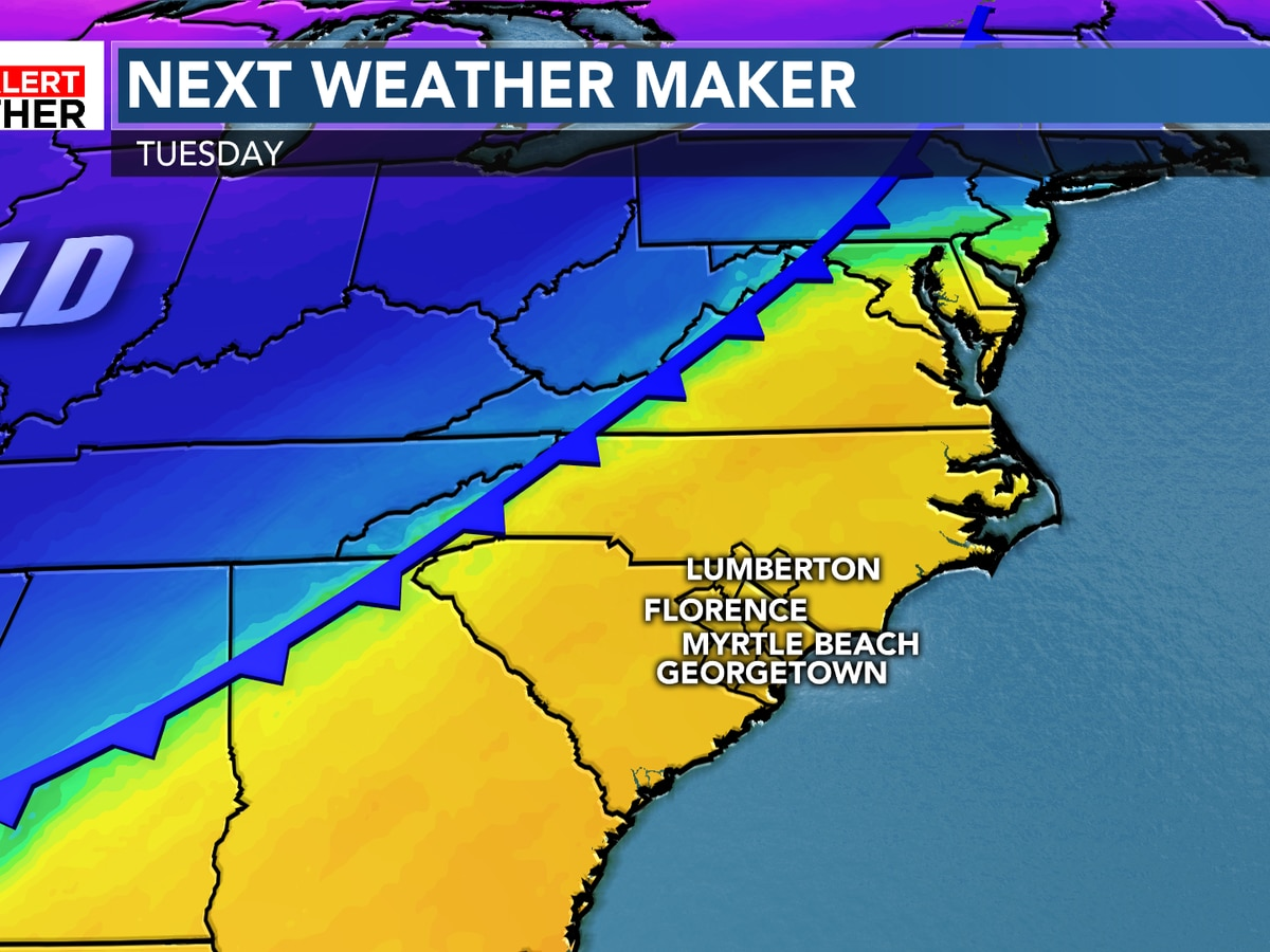 FIRST ALERT: Warm start to the week before big changes arrive