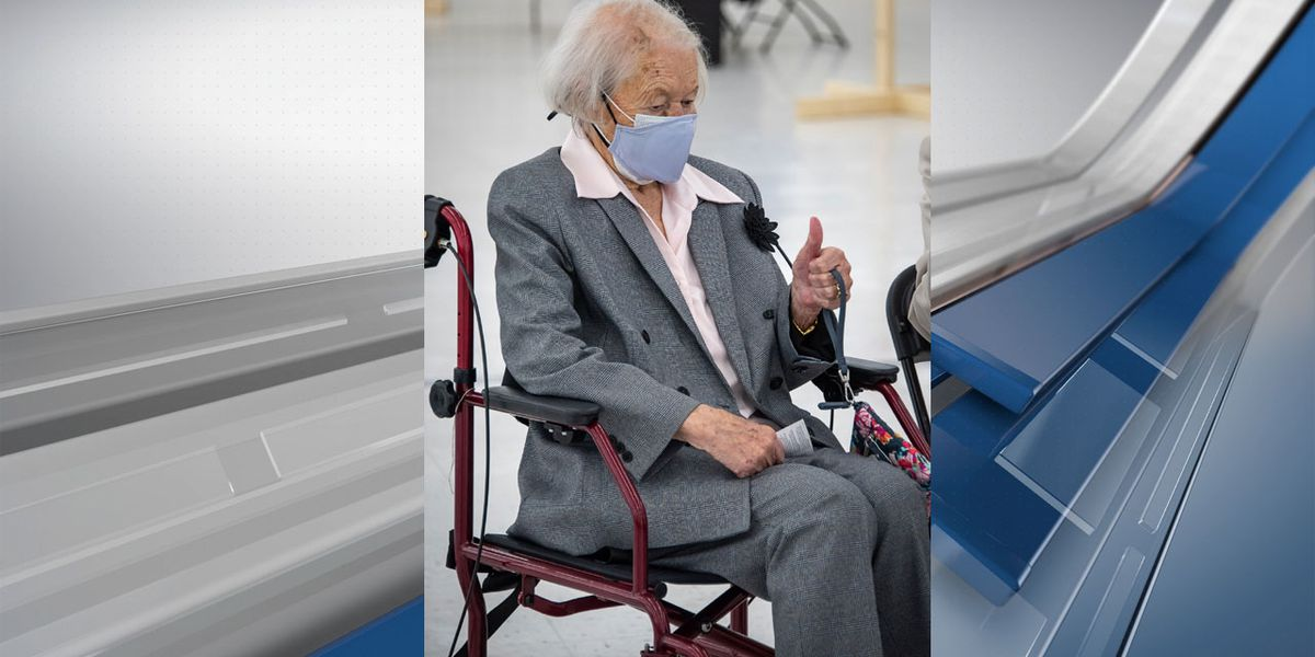 111-year-old Upstate woman receives COVID-19 vaccine