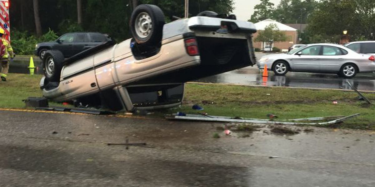 Accident reported on Highway 17 near Restaurant Row in Myrtle Beach