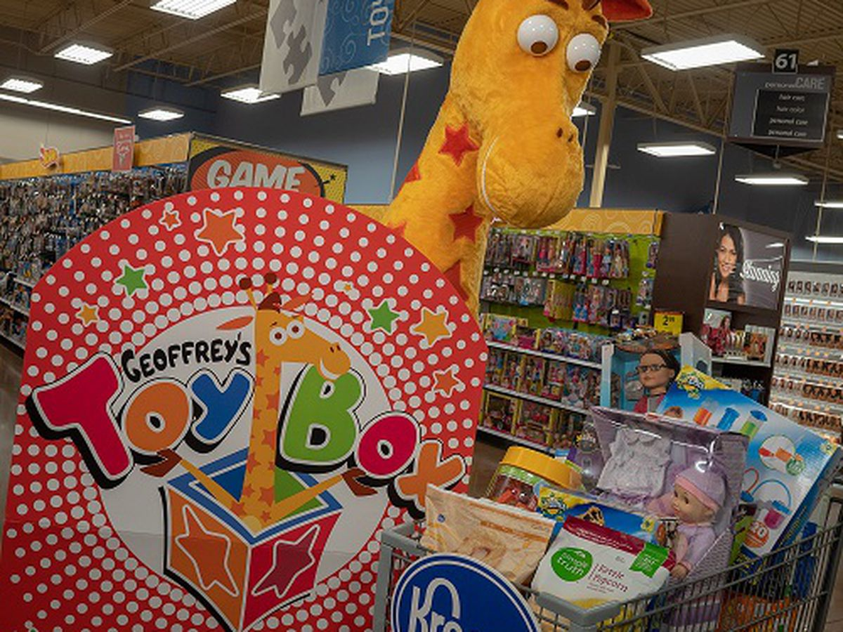 Geoffrey's Toy Box coming to Myrtle Beach Kroger for holiday season