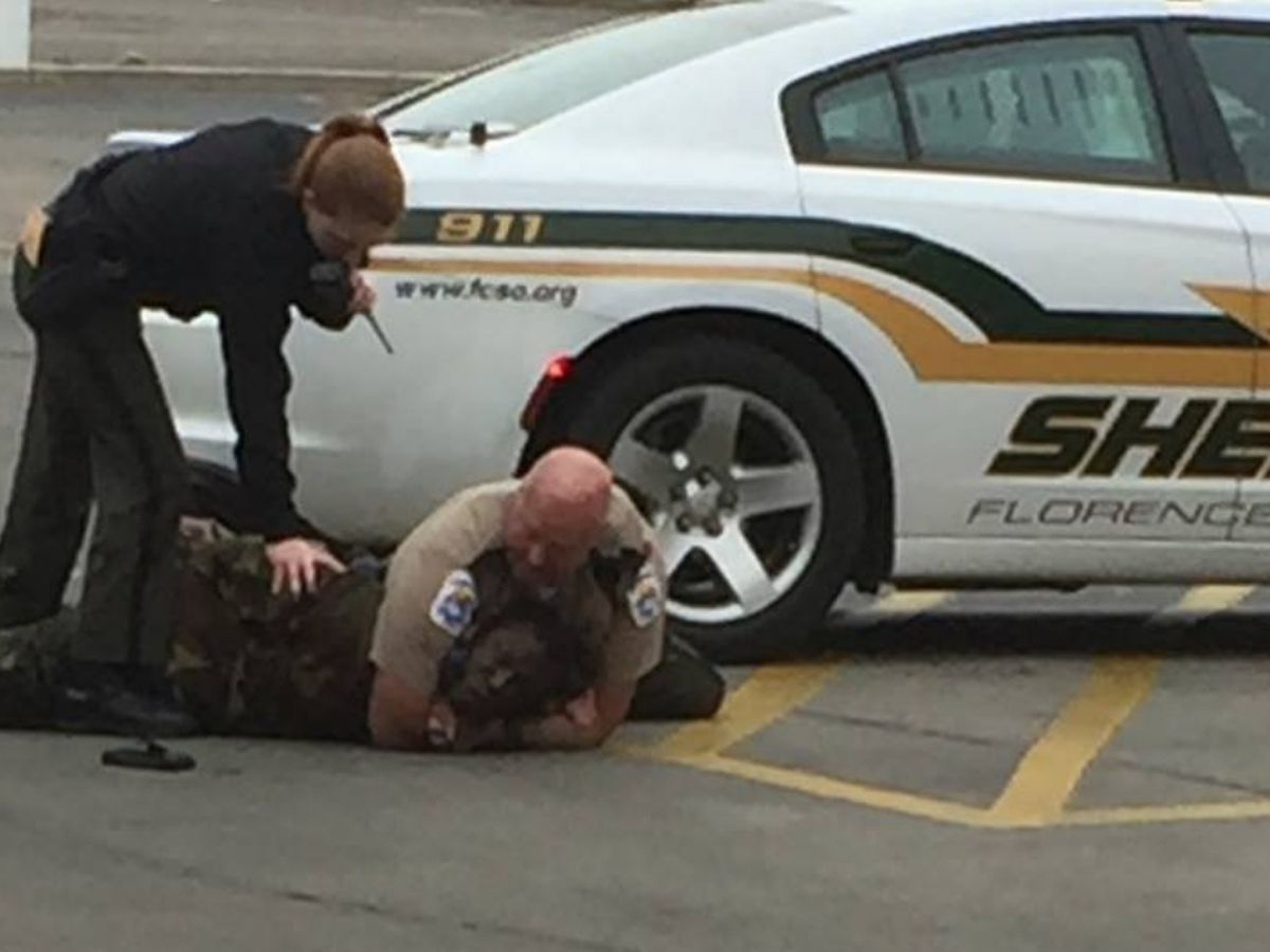 FCSO responds to photos on social media showing deputies encountering 'disorderly' man