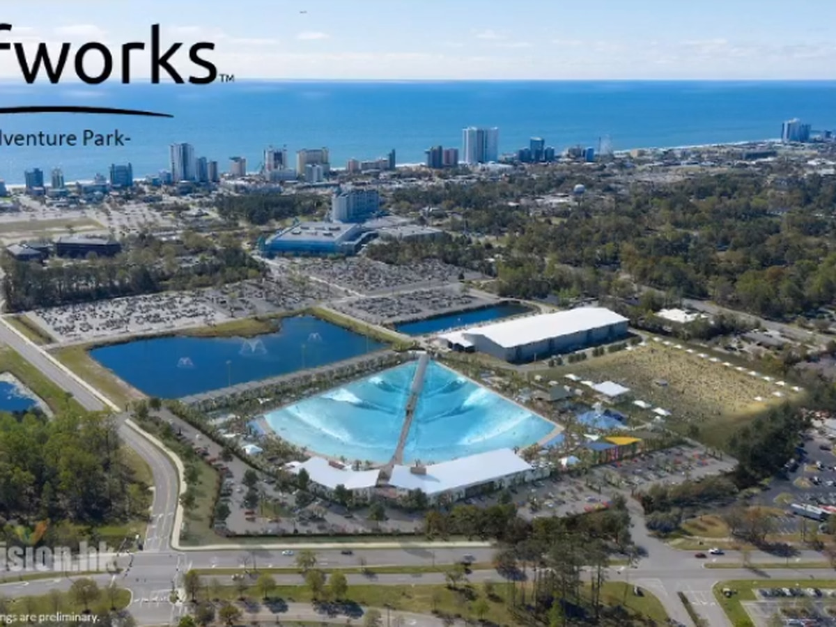 Proposed surf park in Myrtle Beach gets final green light from city leaders