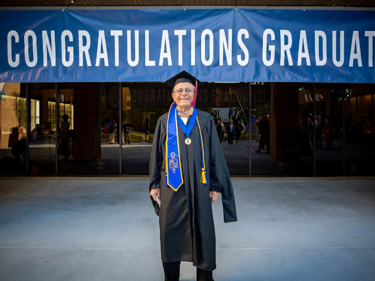 83-year-old earns master's degree from Francis Marion University