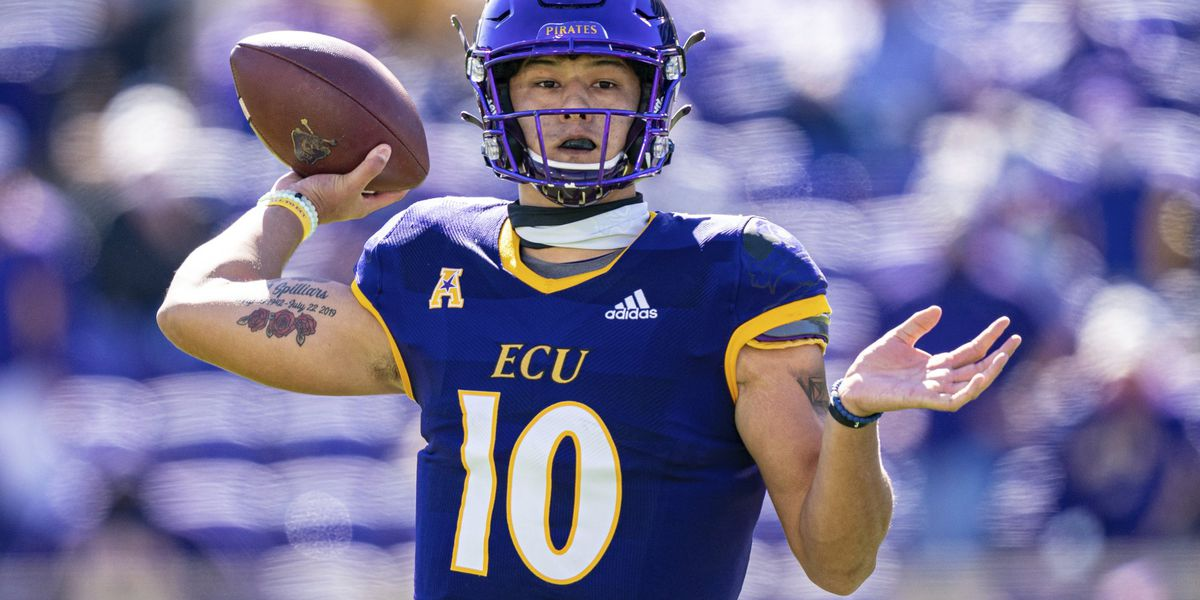 Former Carolina Forest QB Mason Garcia makes first collegiate start at ECU
