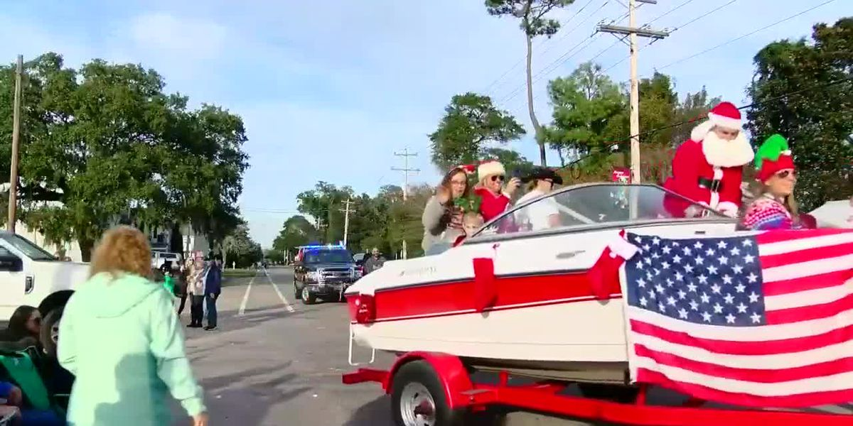 Holiday staple continued Sunday with Murrells Inlet Christmas Parade