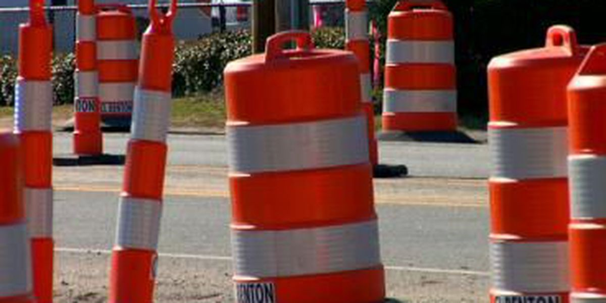 Intersection of Edisto Dr. and Wisteria Dr. in Florence closed due to water main break