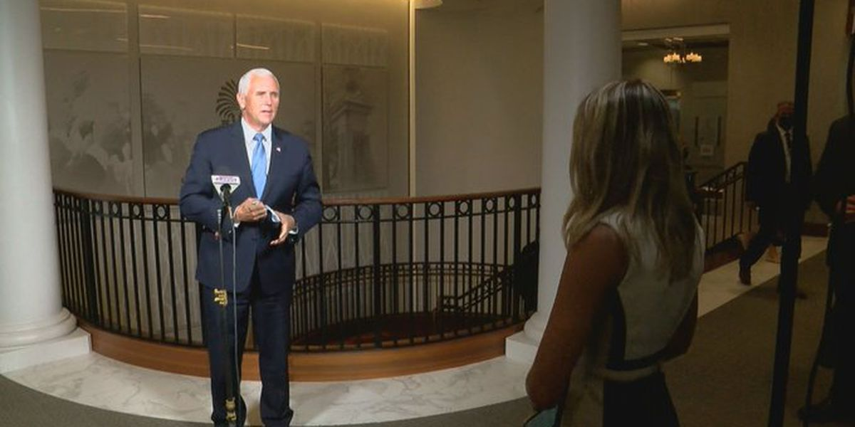 Pence talks reopening schools, COVID-19 impact to Myrtle Beach tourism in one-on-one interview
