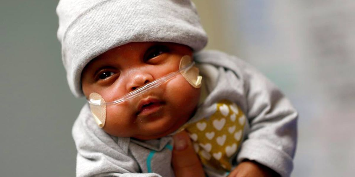 Baby heads home after spending 132 days in Piedmont Columbus Regional's NICU