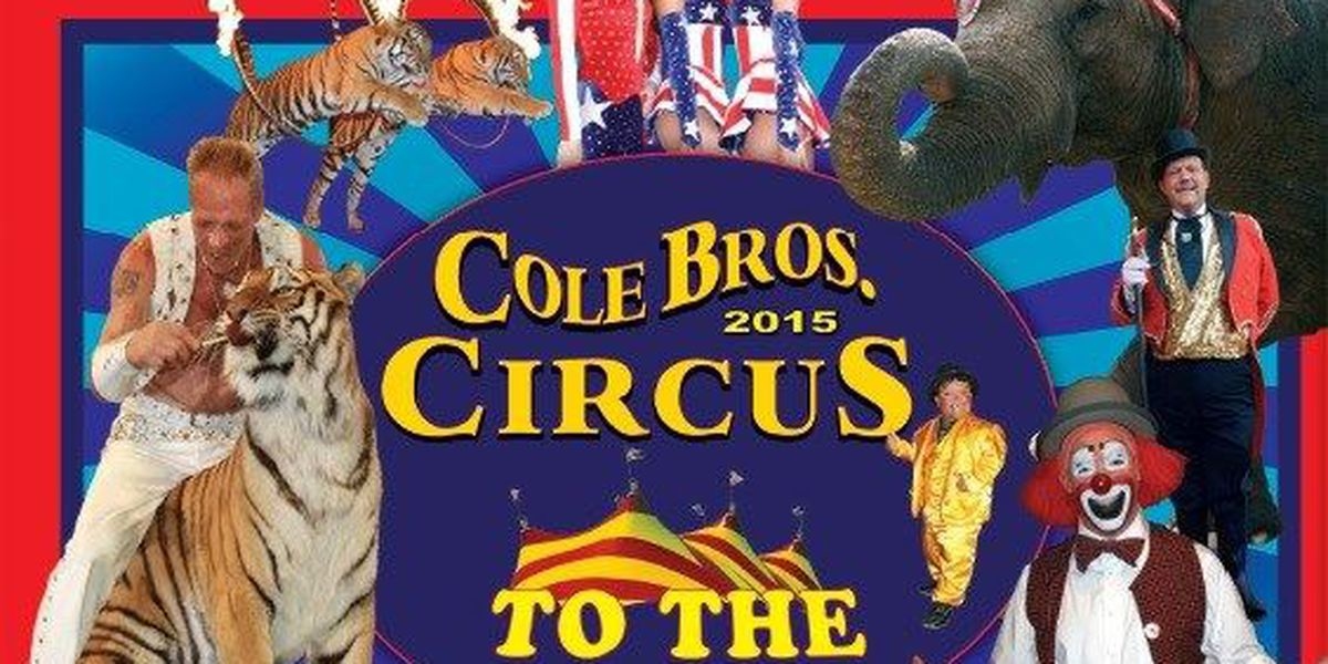 Cole Bros. Circus To The Max coming to Myrtle Beach