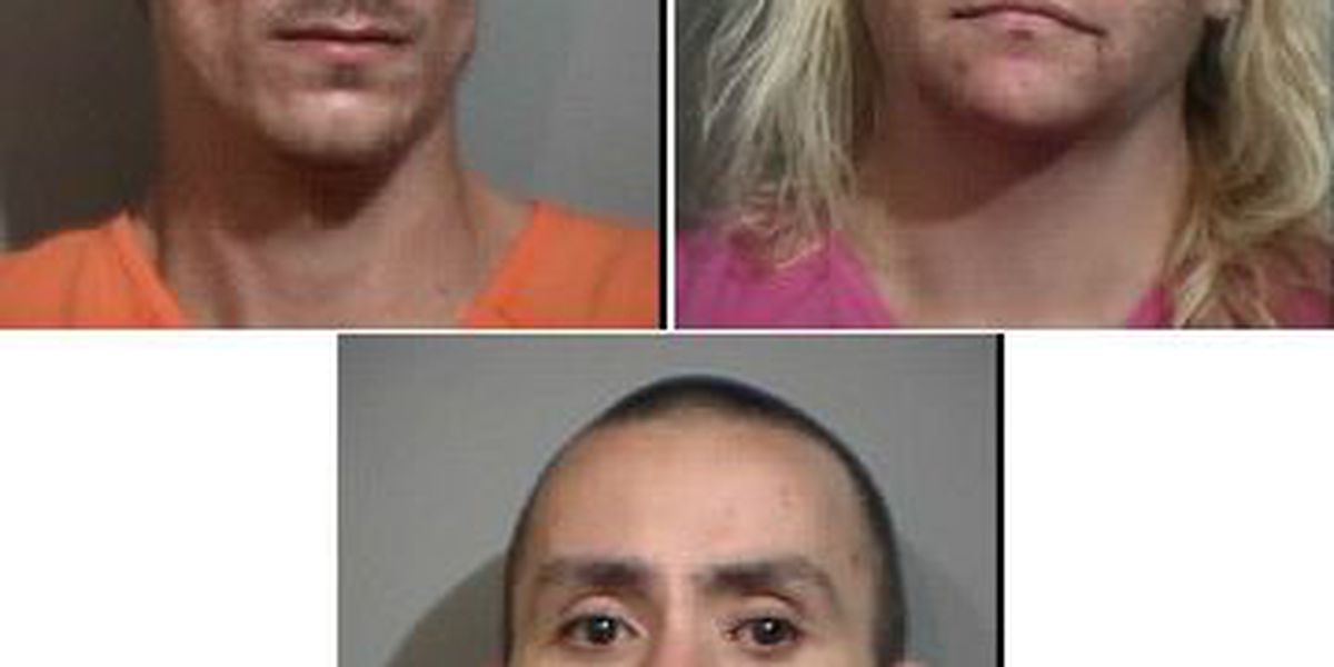 Child welfare check ends with three arrested for operating meth lab in Georgetown