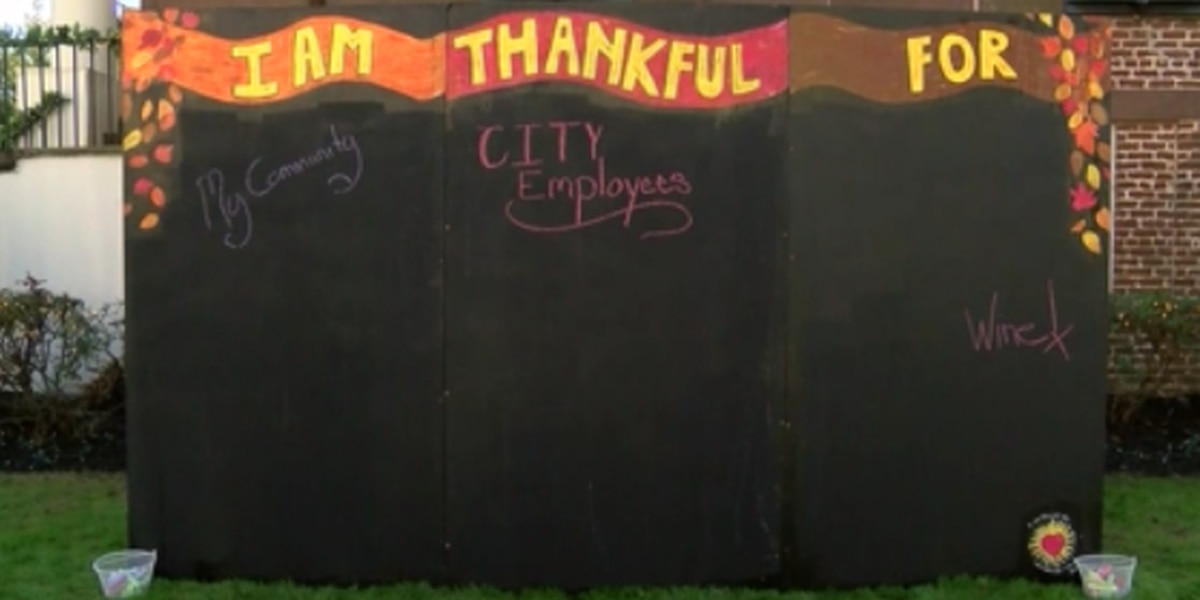 Giving Thanks: Conway has way for people to share messages of thanks