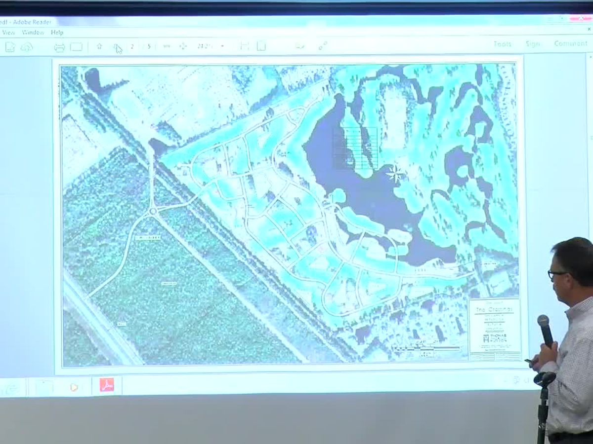 Tensions run high as residents hear about possible Wizard Golf Course development