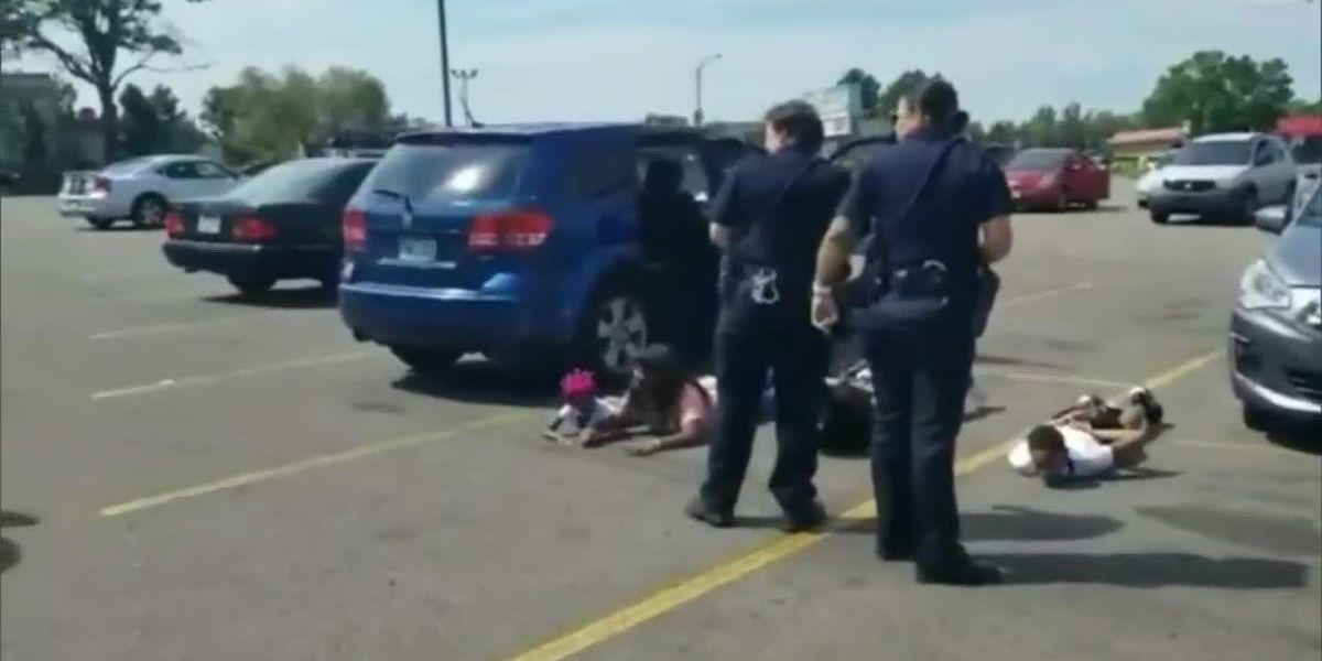 Children and teens forced to the pavement during Colorado stolen car investigation