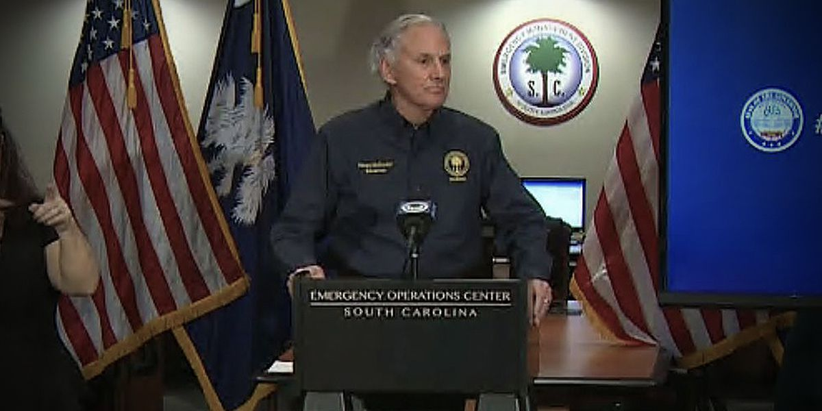 S.C. governor reports for jury duty