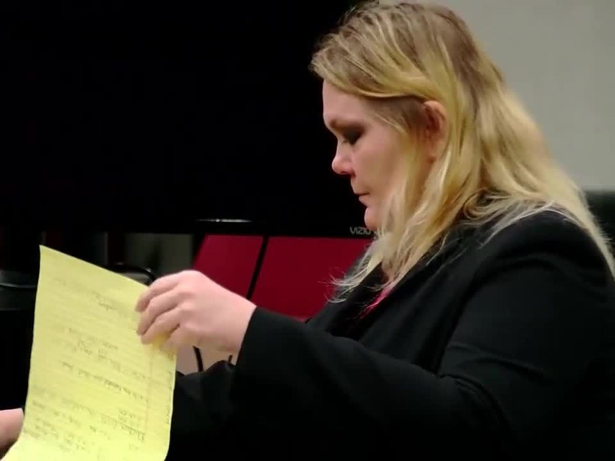 'I think you're a little obsessed with me:' Content of text messages focus of day seven of Tammy Moorer trial