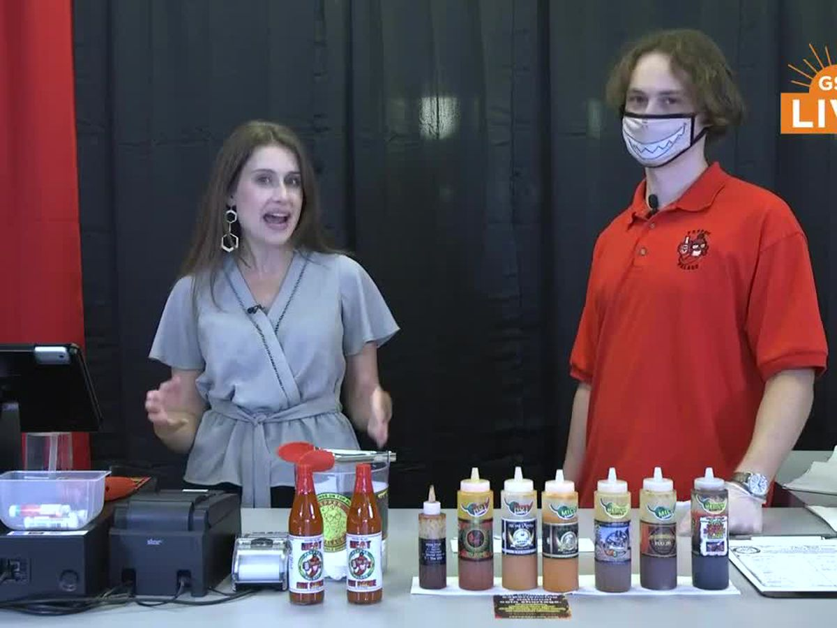 Danyel takes 'The End' hot sauce challenge