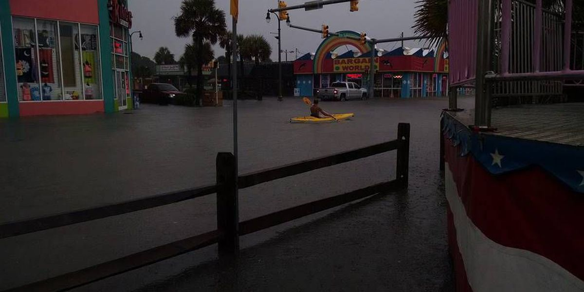 North Myrtle Beach flooding caused by overwhelmed outfall filters