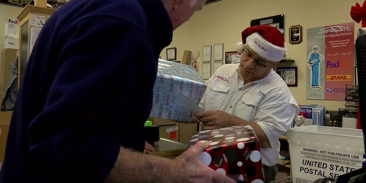 Time is ticking to get your holiday packages shipped