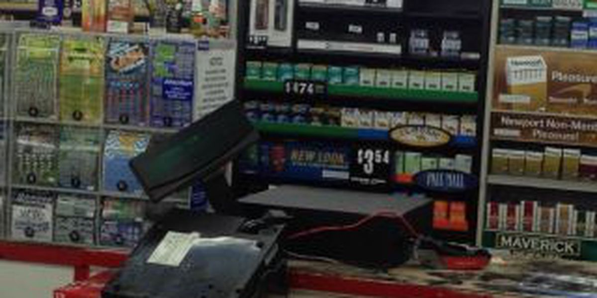 Armed robber suspect on the run after hitting Conway gas station
