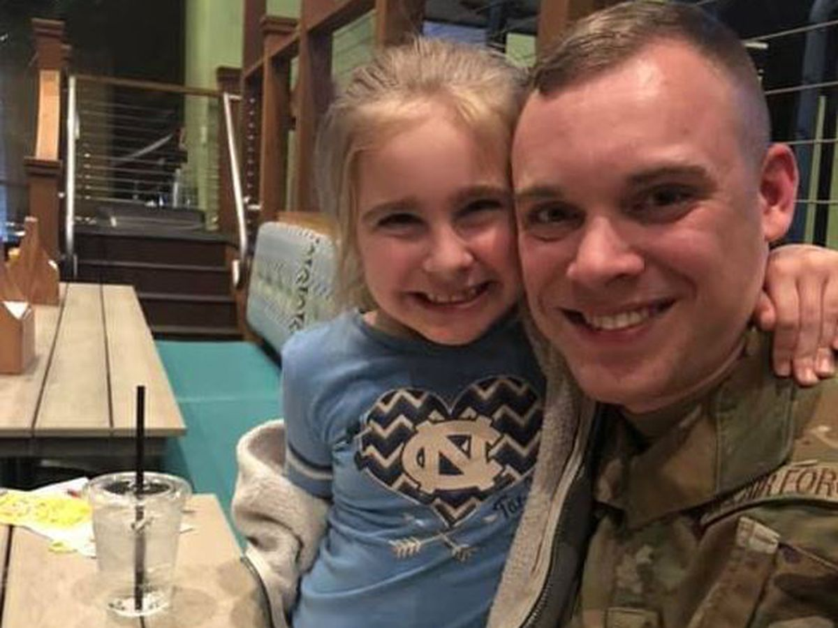 WATCH: Air Force Staff Sgt. from Summerville surprises family with early return home
