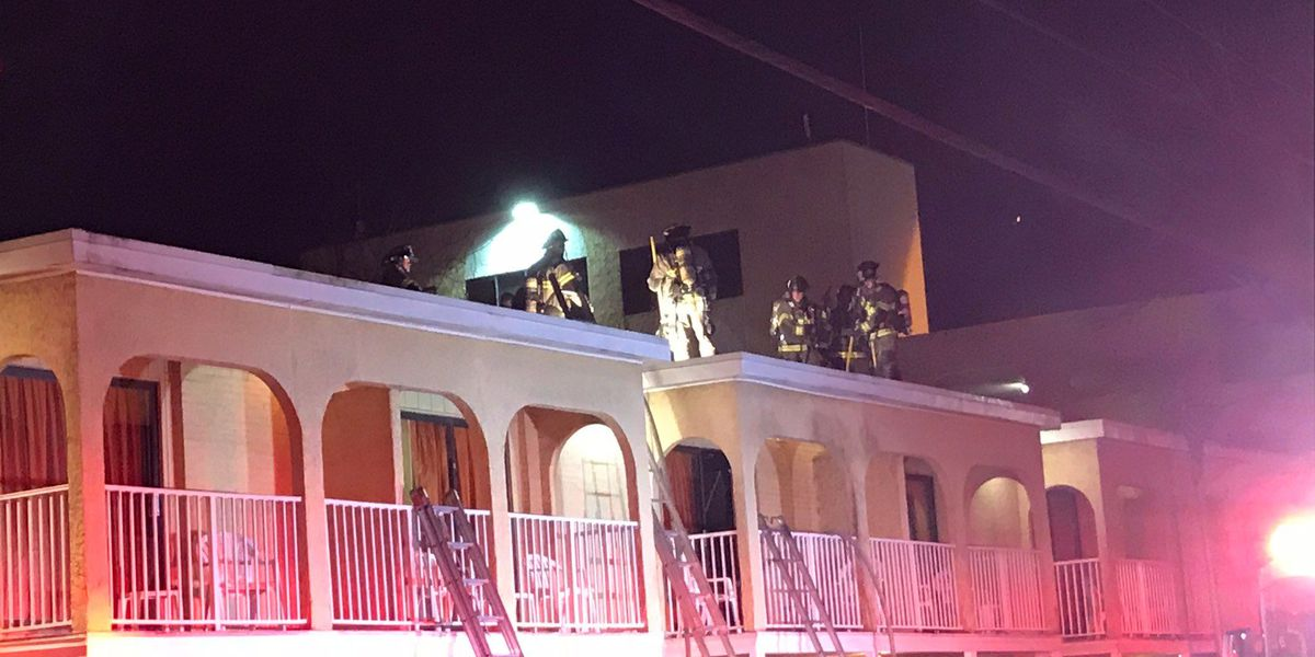 No injuries reported in early-morning hotel fire in Myrtle Beach
