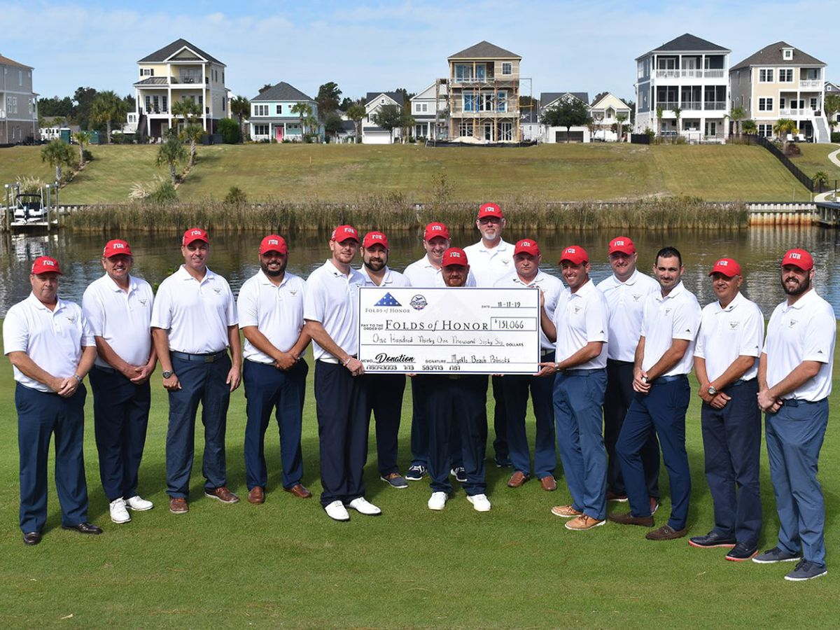 Myrtle Beach golf pros raise over $130K for scholarships for children of fallen, disabled service members