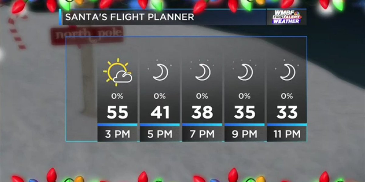 FIRST ALERT: Tranquil, seasonable Christmas Eve forecast on tap