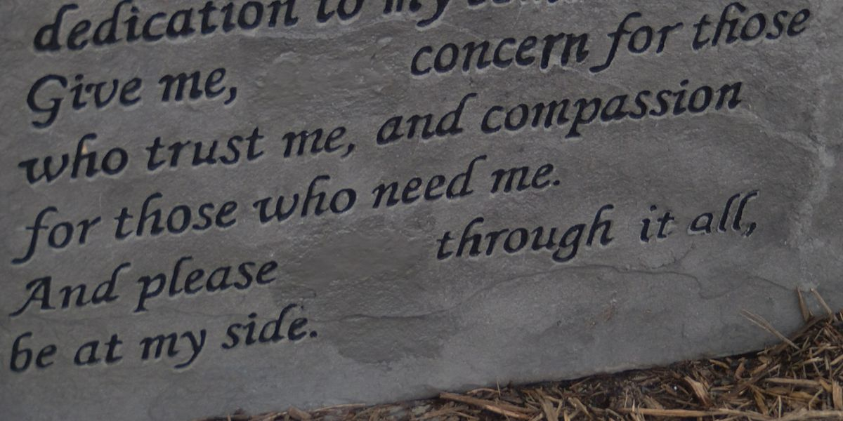 Police memorial removed after Biblical message causes backlash across community