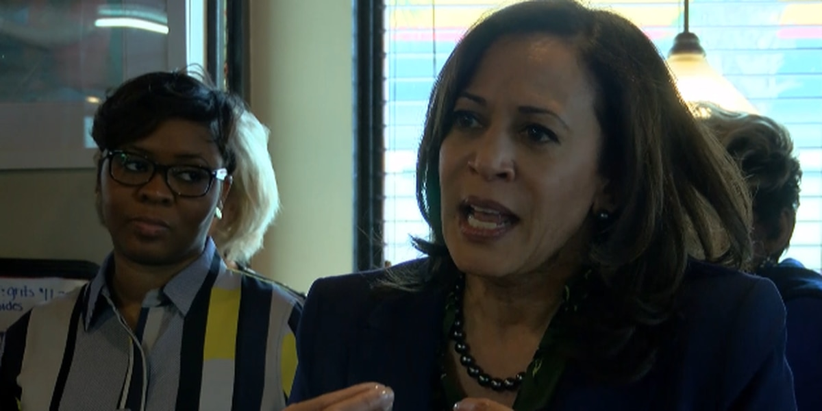 2020 Presidential hopeful Kamala Harris stops in Myrtle Beach
