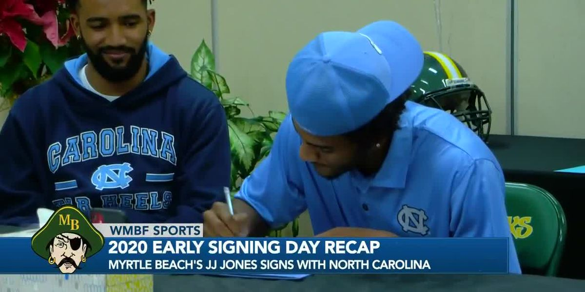 NATIONAL SIGNING DAY: Grand Strand, Pee Dee 2021 athletes sign letters of intent