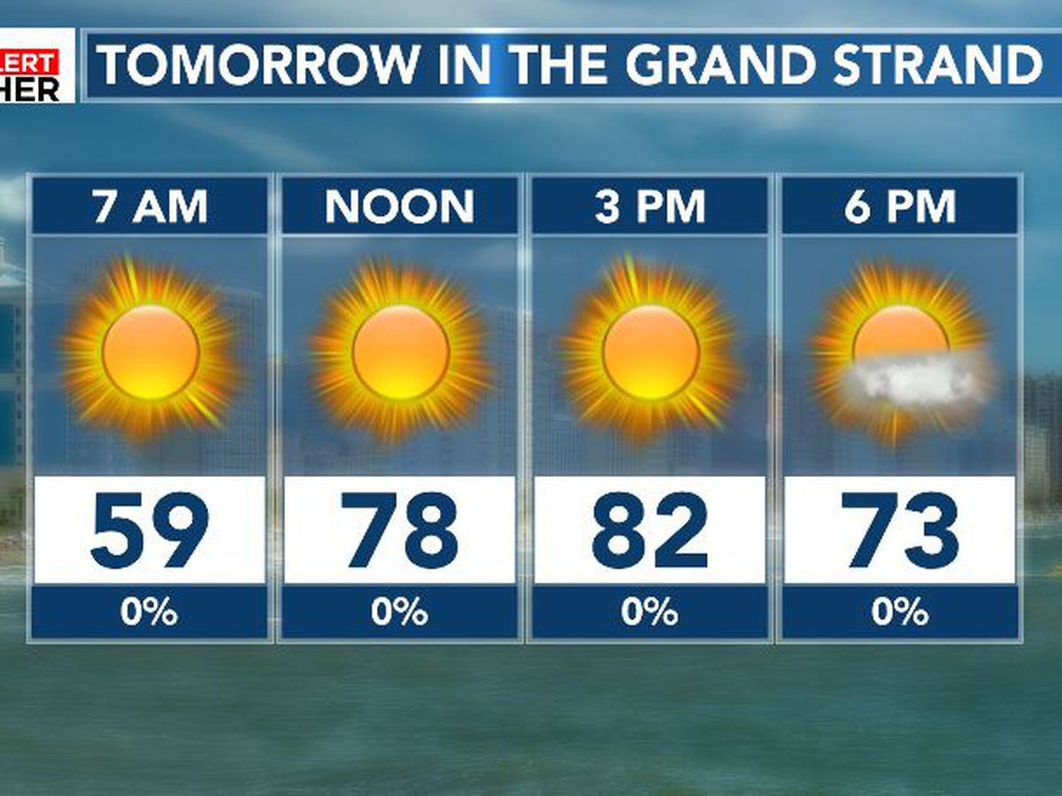 FIRST ALERT: Warm weather continues